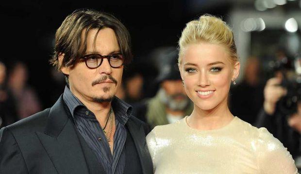 """Johnny Depp et Amber Heard à la première européenne de """"Rhum Express"""""""