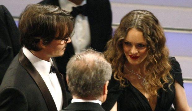 Johnny Depp et Vanessa Paradis-