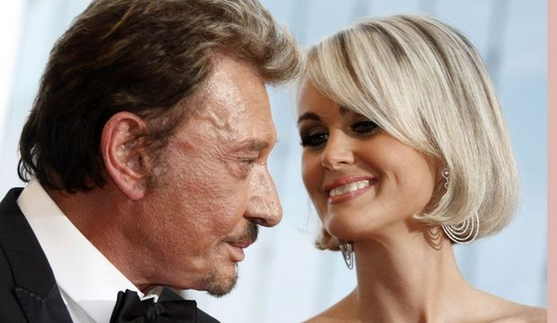 Johnny Hallyday et Laeticia-