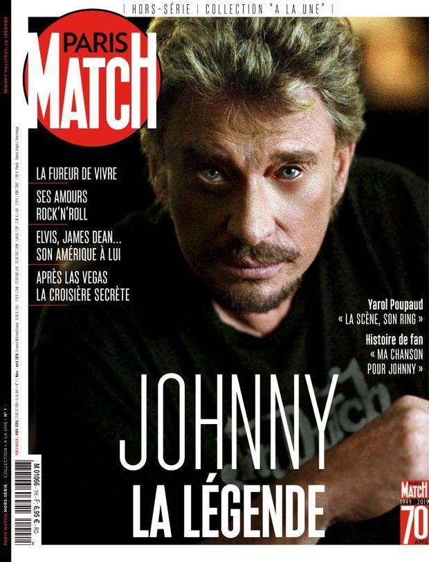"""""""Johnny, la légende"""", premier volume de notre nouvelle collection de hors-séries """"À la Une"""". En vente jeudi 14 mars chez votre marchand de journaux..."""