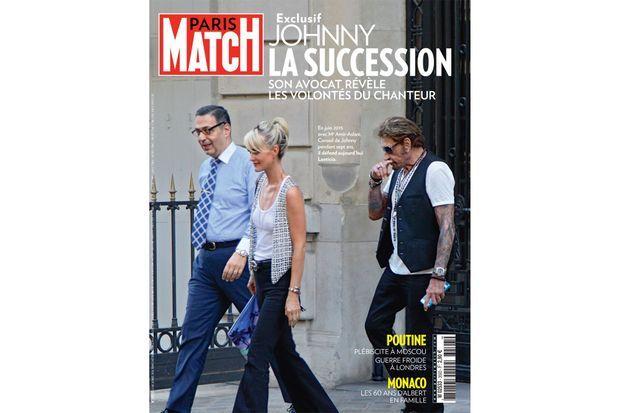 La couverture du numéro 3593 de Paris Match