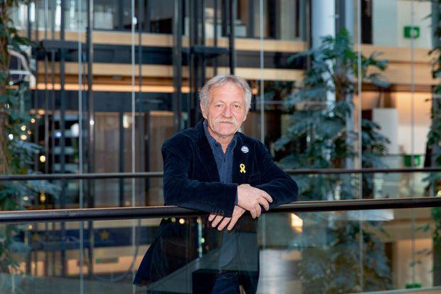 José Bové, 65 ans, élu en 2009.