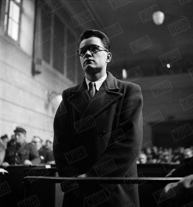 Le procès de Josette Orfaure, en février 1950 à Valence.