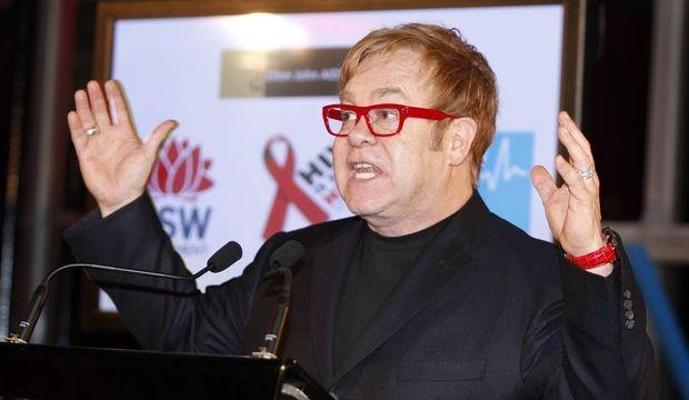 Journée contre le Sida Australie Elton John-