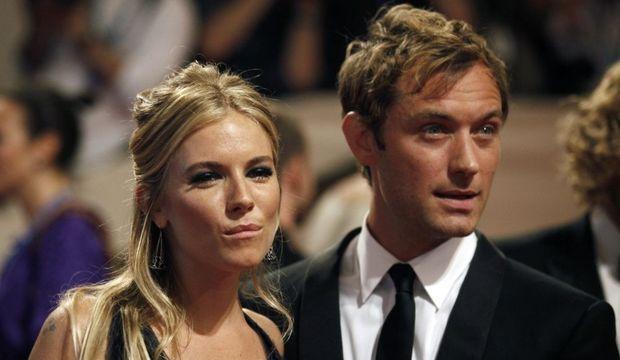 Jude Law et Sienna Miller-