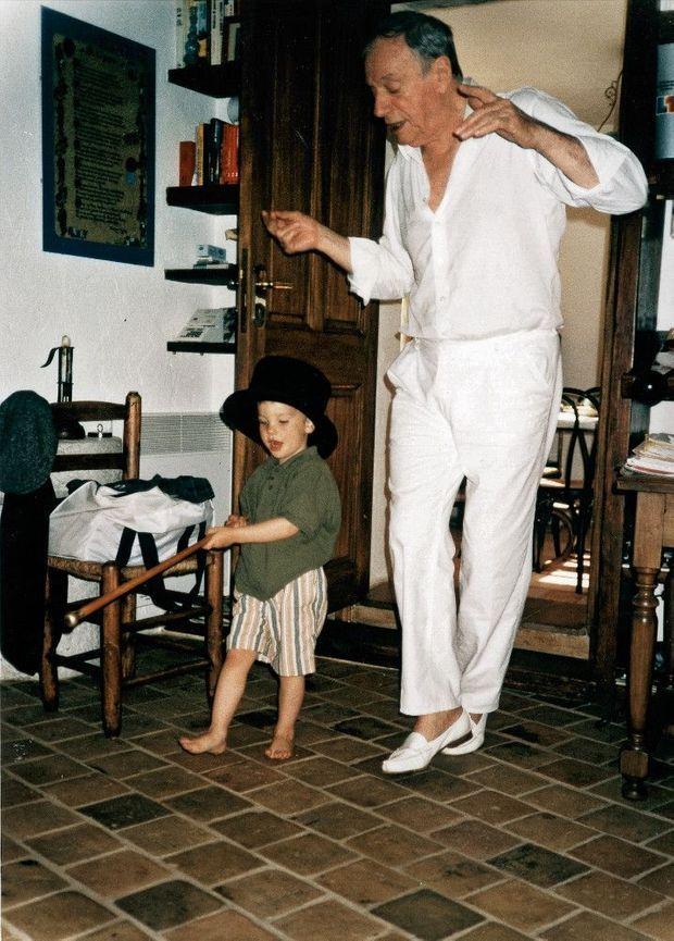 Juin 1991, à Saint-Paul-de-Vence.