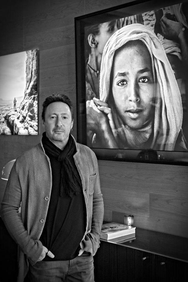 Julian Lennon à l'inauguration du Photo House