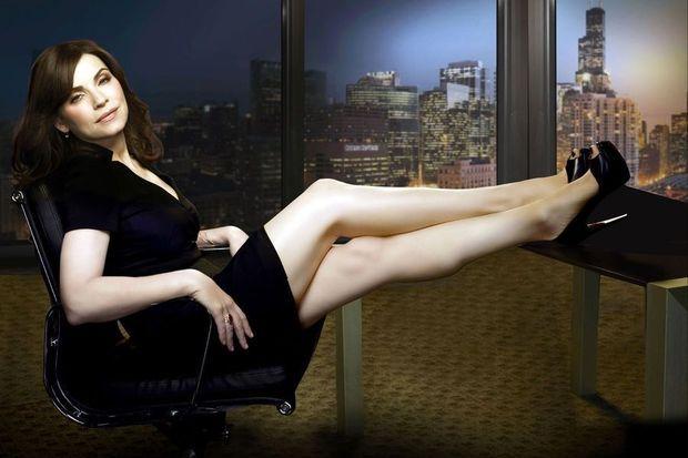 """Julianna Margulies dans """"The Good Wife""""."""