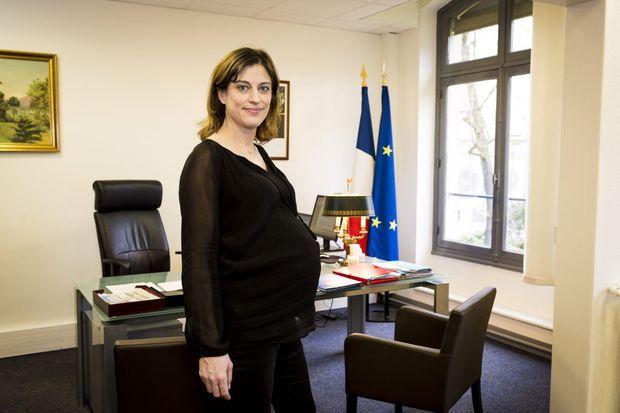 Juliette Méadel pose pour Match, le 25 mars dernier.