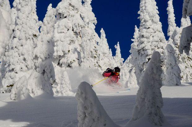 Juliette Willmann sur les skis