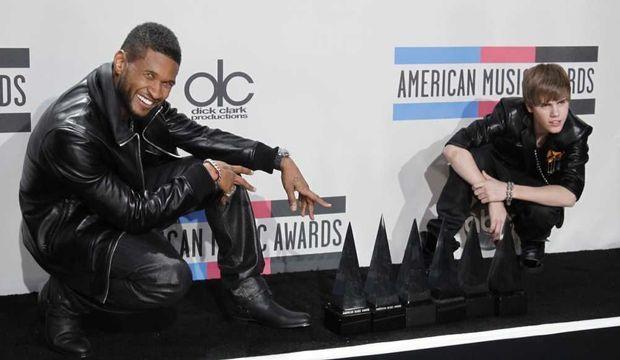 Justin Bieber American music awards-