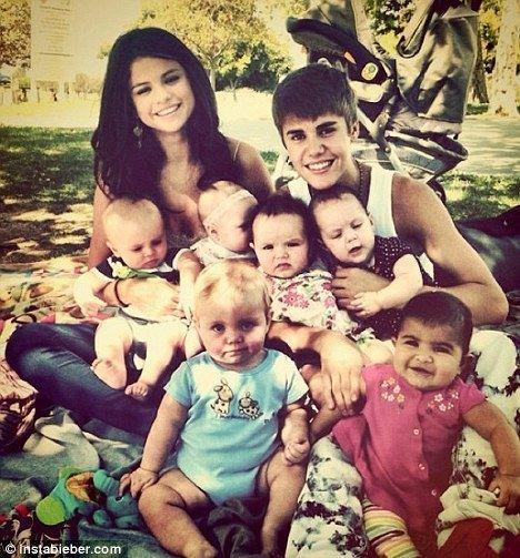 Justin Bieber Selena-
