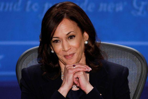 Kamala Harris lors du débat.