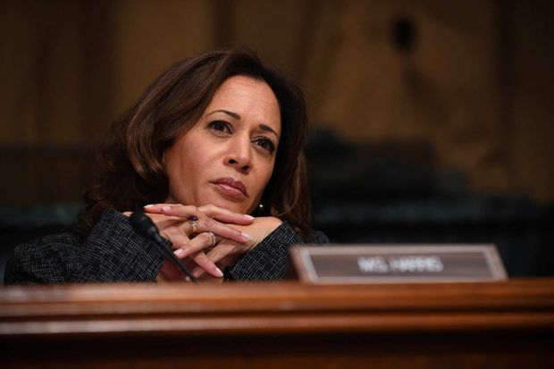 Kamala Harris lors de l'audition de Brett Kavanaugh, en septembre 2018.
