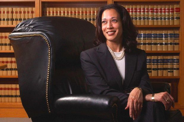 Kamala Harris à San Francisco, en 2004.