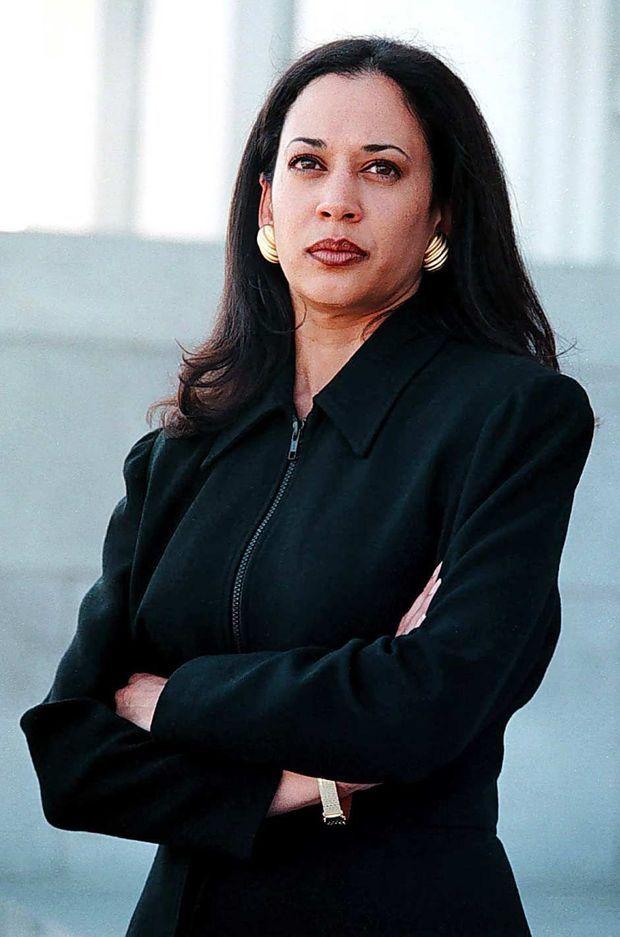 Kamala Harris, en mars 1997.