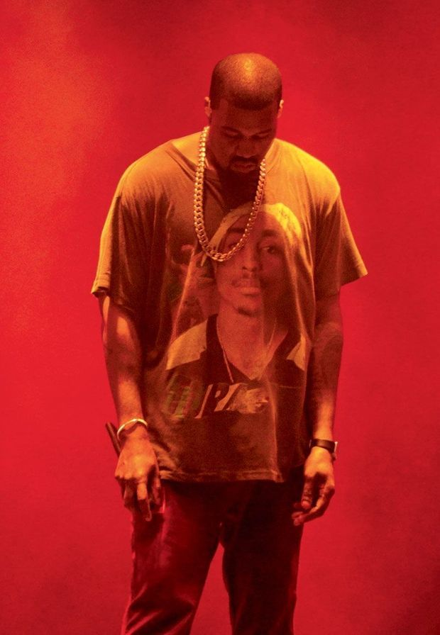 Kanye West, en concert au Meadows Festival
