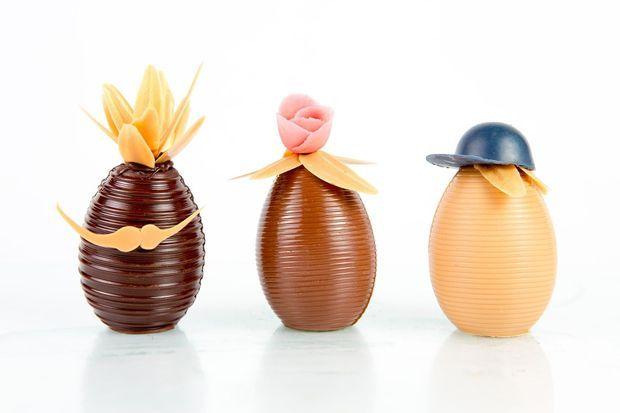 La famille Happy Eggs de Karamel Paris.