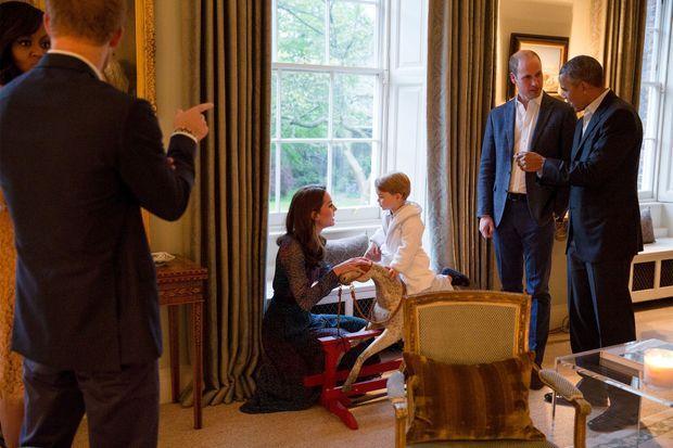Kate et son fils partagent un moment complice