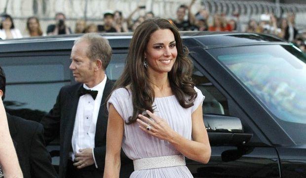 Kate Middleton bague fiançailles-