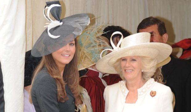 Kate Middleton et Camilla Parker Bowles-
