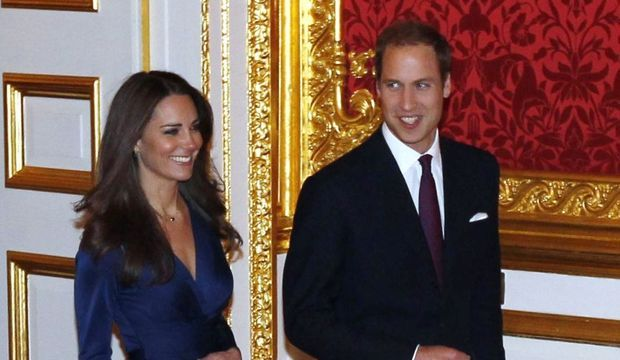kate middleton prince william fiançailles-