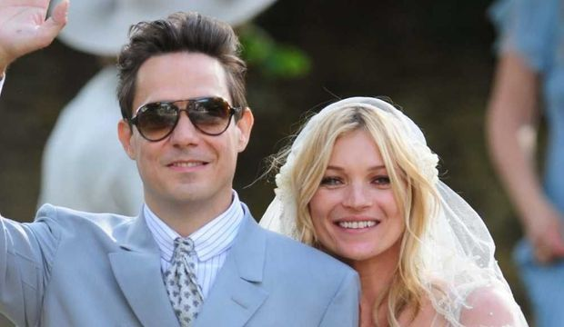 Kate Moss et Jamie Hince mariage-