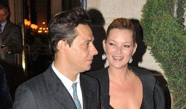 Kate Moss et Jamie Hince-
