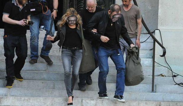 Kate Moss et Terry Richardson en tournage pour Mango-