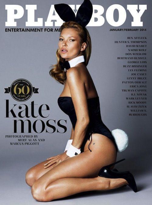 Kate Moss pose pour Playboy pour fêter ses 40 ans et les 60 ans du magazine