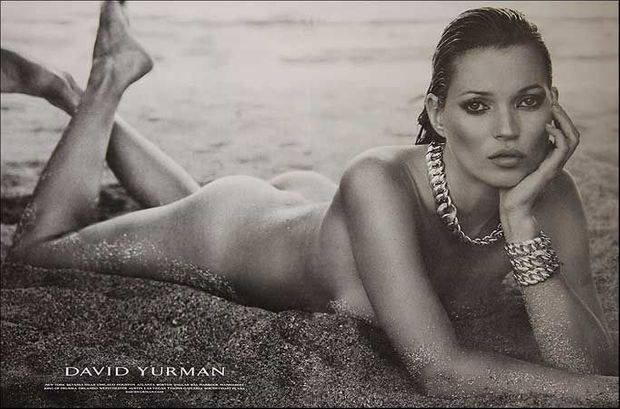 Kate Moss pour David Yurman (attention mauvais format)-