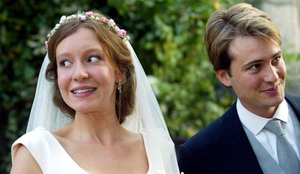 Kate Rothschild et de Ben Goldsmith mariage 2003-
