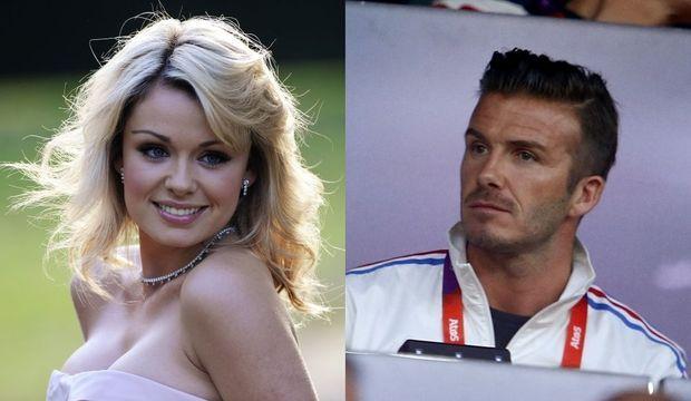 Katherine Jenkins et David Beckham-