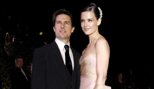 Katie Holmes et Tom Cruise en 2007-