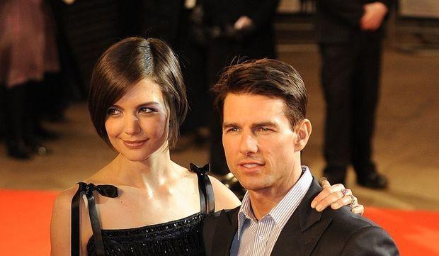 Katie Holmes et Tom Cruise-