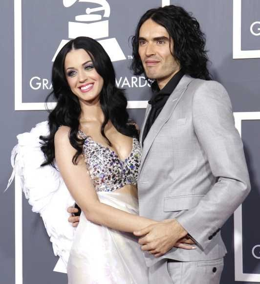 Katy Perry et Russel Brand-