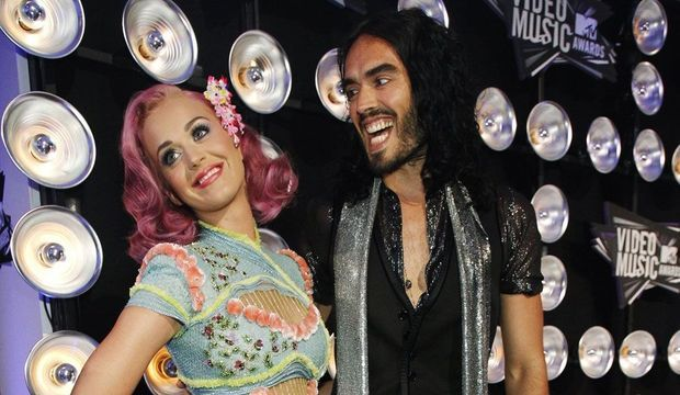 Katy Perry et Russell Brand -