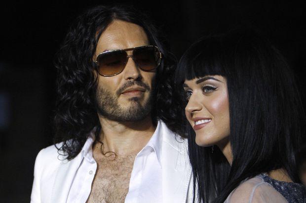 Katy Perry et Russell Brand, au temps de l'amour