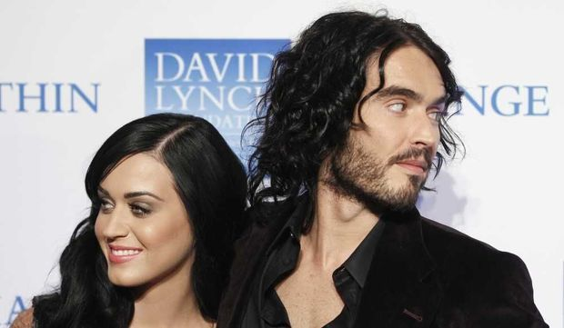 Katy Perry et son mari Russell Brand Fondation David Lynch-