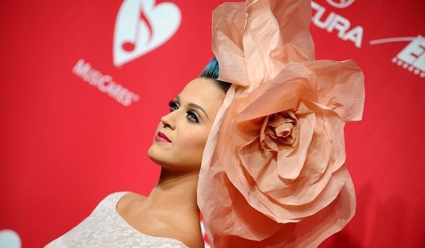 Katy Perry habillée en Alexis Mabille Couture-