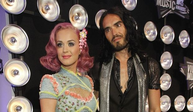 Katy Perry Russell Brand Video Music Awards 2011-