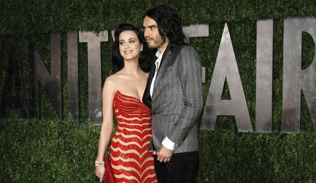 Katy Perry + Russell Brand-