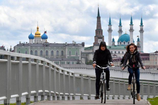 A Kazan, en Russie, dimanche.