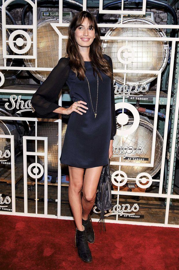 Septembre 2012, la Top model Kenza Fourati alors âgée de 25 ans, à New York.