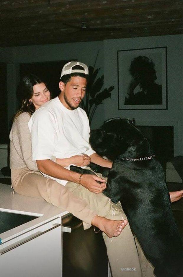 Kendall Jenner et Devin Booker
