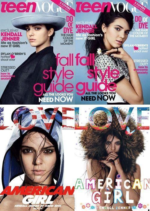 Kendall Jenner multiplie les Unes de magazines