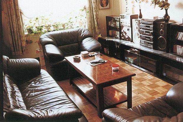 L'appartement de Kenji Fujimoto en Corée du Nord.