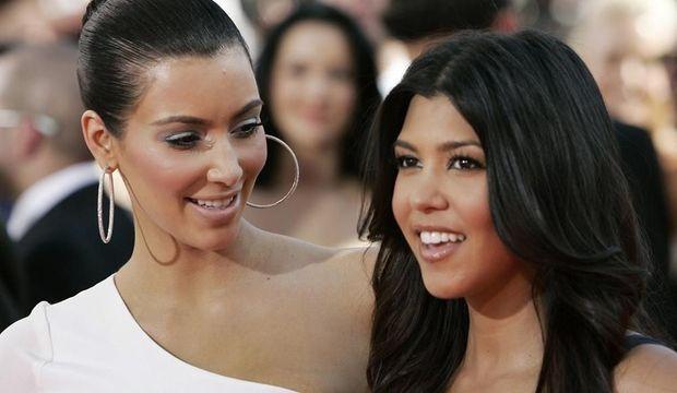 Kim et Kourtney Kardashian-