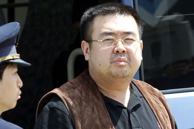 Kim Jong-nam en 2001.