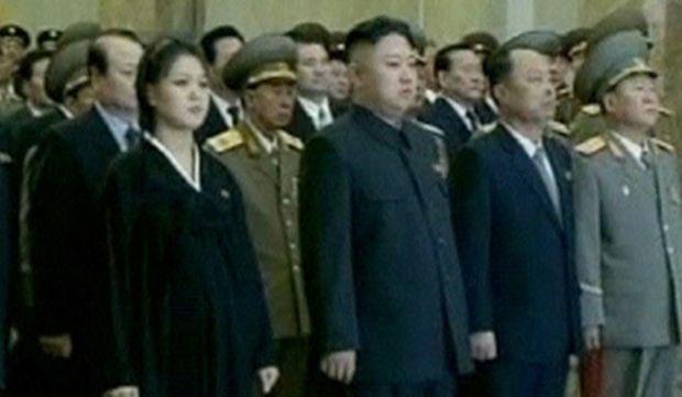 Kim Jong Un et Ri Sol Ju-